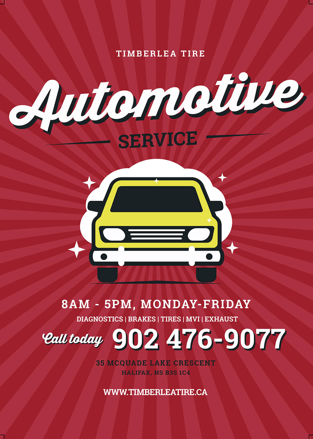 Diagnostics | Brakes | Tires | MVI | Exhaust. Call Today.
